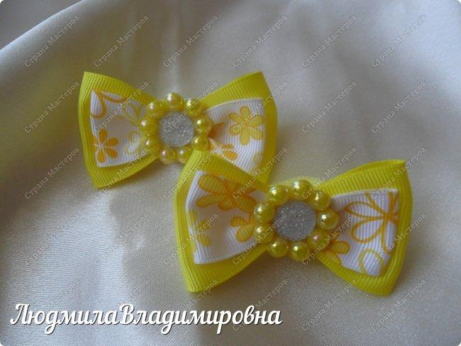 Наш парад бантиков открывают фиолетовые)))) фото 2