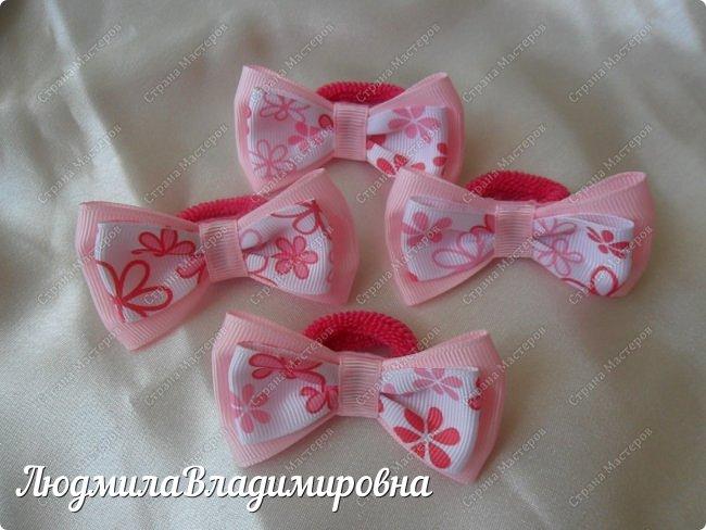Наш парад бантиков открывают фиолетовые)))) фото 9