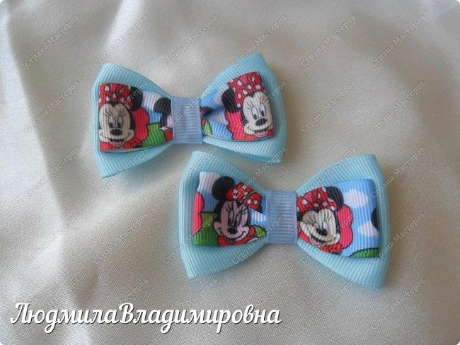 Наш парад бантиков открывают фиолетовые)))) фото 11
