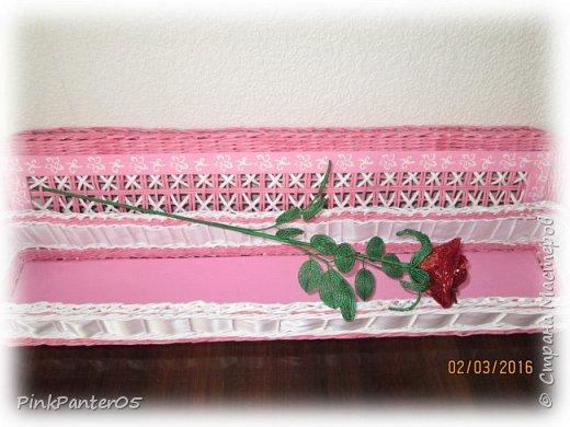 Розы в подарочном коробе фото 3