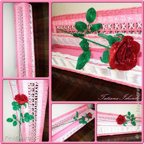 Розы в подарочном коробе фото 1