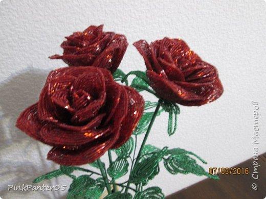 Розы в подарочном коробе фото 4