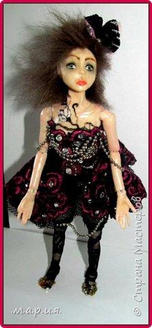 Моя первая шарнирная кукла фото 2