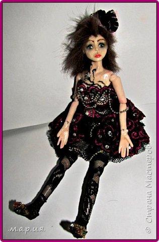Моя первая шарнирная кукла фото 1