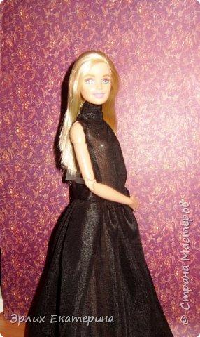 Барби - Китнес  Платье розовое с белым , на липучке  фото 3
