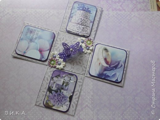 свадебный конверт и коробочка. фото 4