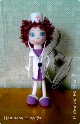 Вот такие куколки получились к дню медработника,так как я сама медработник,мне эта тема близка фото 4