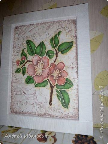Рамка декорирована шпагатом Изображение и фон ---- шпатлёвка Раскрашено гуашью размеры 48х39 Рамка декорирована шпагатом Изображение и фон ---- шпатлёвка Раскрашено гуашью размеры 48х39  фото 3