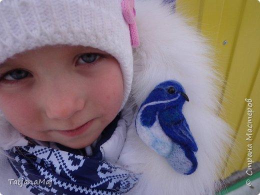 Ещё зимой наваляла всяких птичек. И принесла их конечно своим Радужкам - детям моей разновозрастной группы.  Им очень понравилось держать в руках тех кто прилетает к ним на участок подкормиться, но близко не подпускает)) фото 5