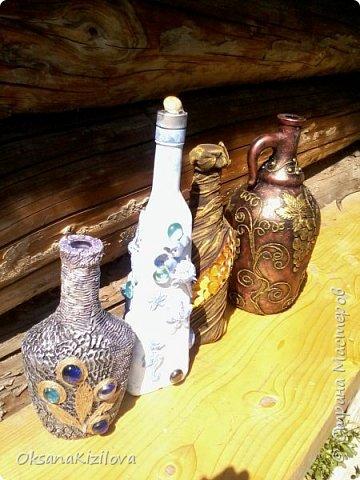 Добрый день всем, Вот мои бутылочки. Эта самая любимая.... фото 25