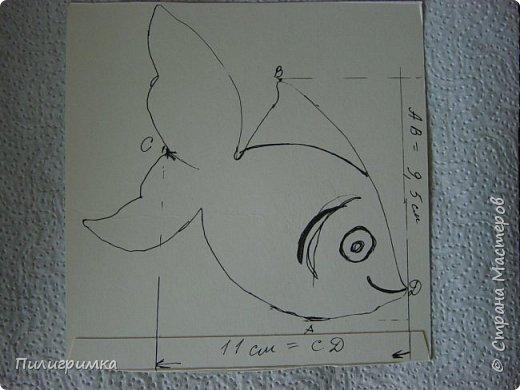 Вдохновившись работами Ольги Бек  (http://stranamasterov.ru/node/364067?c=favorite ), решила сделать пару-тройку рыб. фото 5