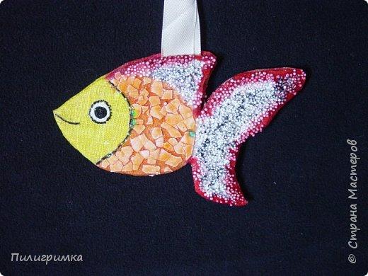 Вдохновившись работами Ольги Бек  (http://stranamasterov.ru/node/364067?c=favorite ), решила сделать пару-тройку рыб. фото 2