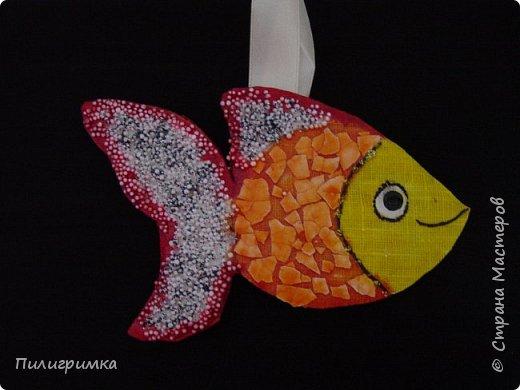 Вдохновившись работами Ольги Бек  (https://stranamasterov.ru/node/364067?c=favorite ), решила сделать пару-тройку рыб. фото 8