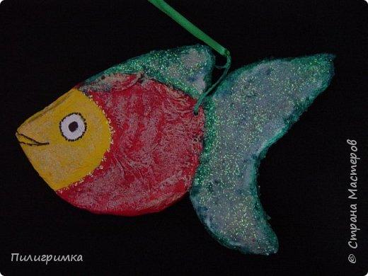 Вдохновившись работами Ольги Бек  (https://stranamasterov.ru/node/364067?c=favorite ), решила сделать пару-тройку рыб. фото 4