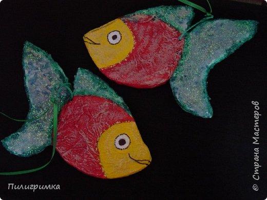 Вдохновившись работами Ольги Бек  (https://stranamasterov.ru/node/364067?c=favorite ), решила сделать пару-тройку рыб. фото 3