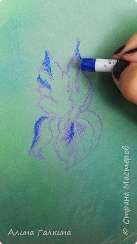 Вот такой простенький цветочек будем рисовать. фото 5