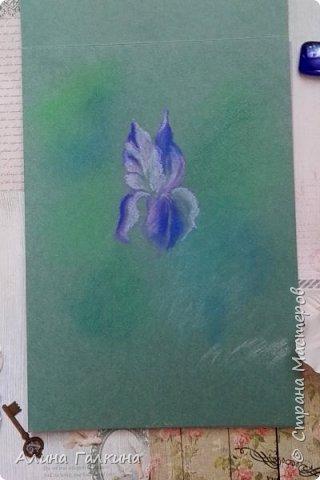Вот такой простенький цветочек будем рисовать. фото 8