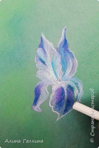 Вот такой простенький цветочек будем рисовать. фото 10