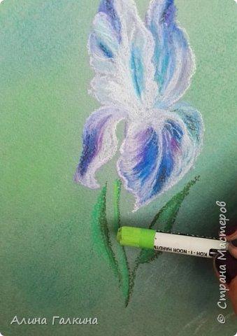 Вот такой простенький цветочек будем рисовать. фото 14