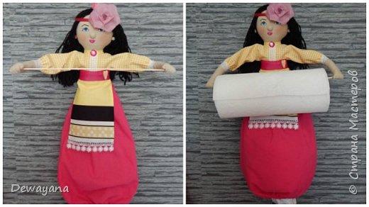 Мои первые заказики - куколки украиночки. фото 5