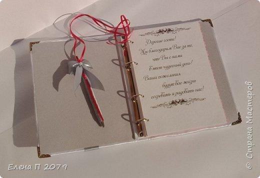 Всем доброго времени суток! Вот такой свадебный наборчик сделала на свадьбу сестре. Свадьба в малиново-серых оттенках. Делала впервые, но думаю все получилось.  Главное, сестра в полном восторге. фото 5