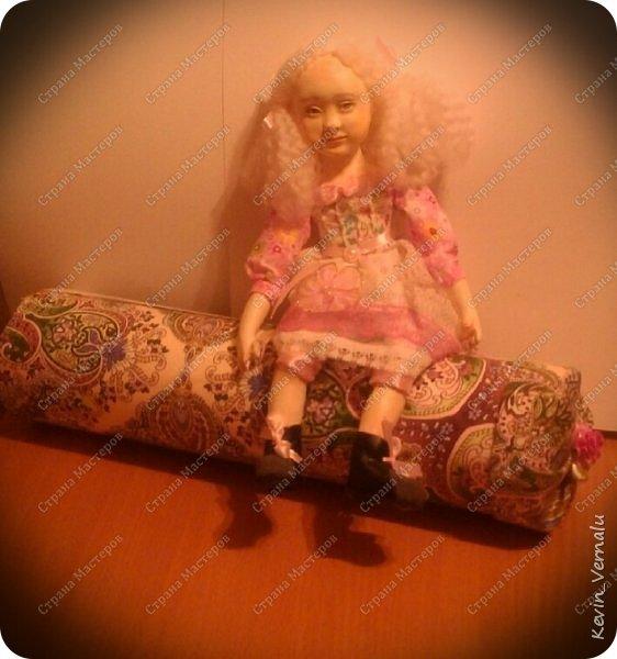 Всем привет!Давно я не выкладывала МК...Все спят...я творю...В общем создала я куколку...Пока не продала и никому не подарила...Стал вопрос о  хранении.То есть необходима мне оказалась упаковка...Мк в первую очередь сделала для себя, чтоб если че забуду просмотреть....ну и кому-то может и пригодится. фото 1