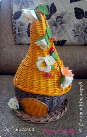 Здравствуйте! сегодня у меня домики шкатулки,очень их люблю делать. всегда такие разные получаются)))  фото 1