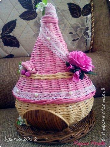 Здравствуйте! сегодня у меня домики шкатулки,очень их люблю делать. всегда такие разные получаются)))  фото 4