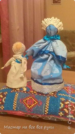 Мы с мамой сделали куклу оберег и назвали ее Макоша. фото 2