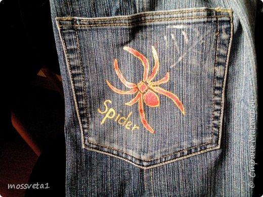 Вот и дождались ненужные джинсы своего часа))) Органайзер для мальчишек. Вдохновилась работой Евгении Карташовой. фото 8