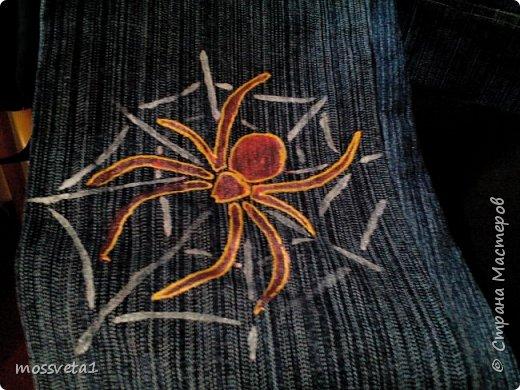 Вот и дождались ненужные джинсы своего часа))) Органайзер для мальчишек. Вдохновилась работой Евгении Карташовой. фото 7