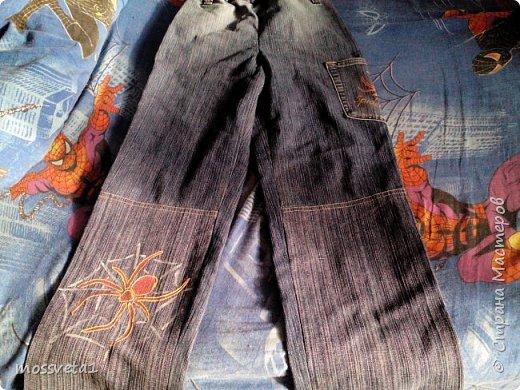 Вот и дождались ненужные джинсы своего часа))) Органайзер для мальчишек. Вдохновилась работой Евгении Карташовой. фото 6
