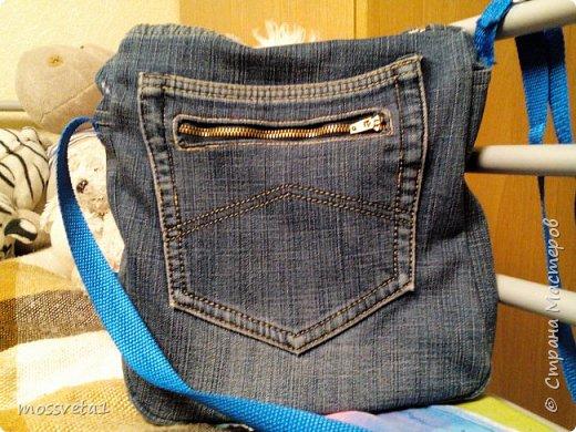 Вот и дождались ненужные джинсы своего часа))) Органайзер для мальчишек. Вдохновилась работой Евгении Карташовой. фото 4