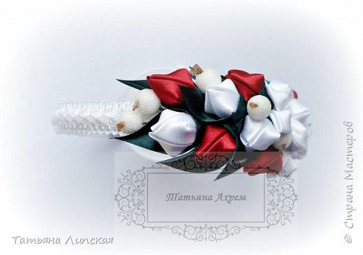 Всем привет!  Поздравляю всех с наступлением лета!) Сегодня хочу поделиться мастер-классом ободка с бутонами и ягодками https://youtu.be/G81aTs6XArg . фото 5