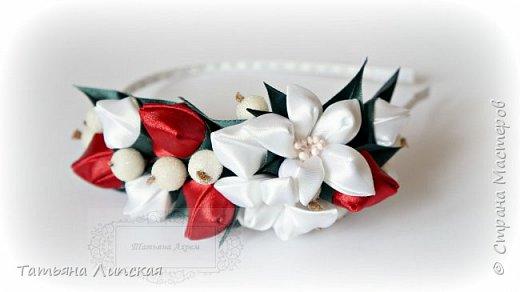 Всем привет!  Поздравляю всех с наступлением лета!) Сегодня хочу поделиться мастер-классом ободка с бутонами и ягодками https://youtu.be/G81aTs6XArg . фото 3