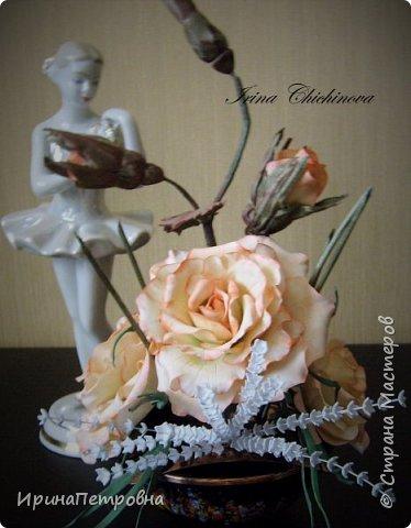 Розы из ХФ. Композиция. фото 1