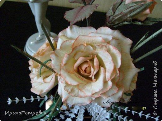 Розы из ХФ. Композиция. фото 2