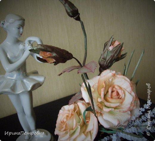 Розы из ХФ. Композиция. фото 3