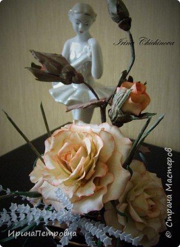 Розы из ХФ. Композиция. фото 4