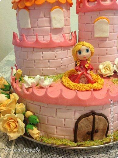 Всем-доброго времени суток! Хочу показать торт на день рождения моей старшей доченьки! Захотелось чего-нибудь сказочного! фото 2