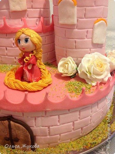 Всем-доброго времени суток! Хочу показать торт на день рождения моей старшей доченьки! Захотелось чего-нибудь сказочного! фото 4