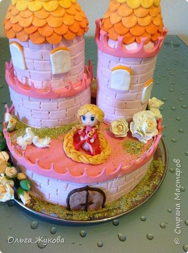 Всем-доброго времени суток! Хочу показать торт на день рождения моей старшей доченьки! Захотелось чего-нибудь сказочного! фото 5