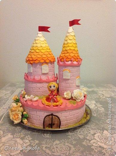 Всем-доброго времени суток! Хочу показать торт на день рождения моей старшей доченьки! Захотелось чего-нибудь сказочного! фото 6