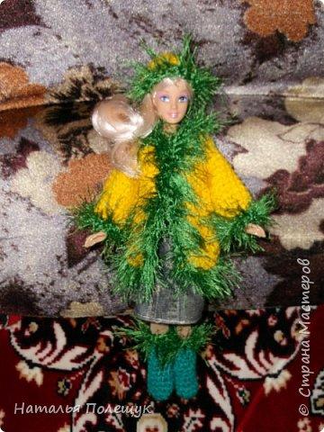 Нарядила куклу для племянницы фото 1