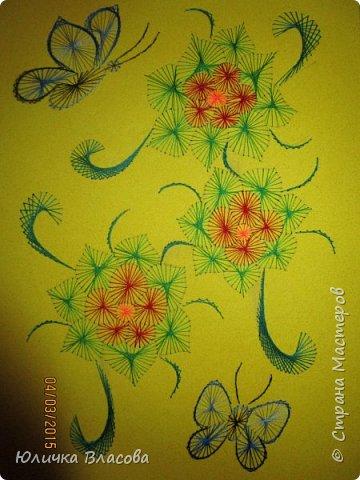 Бабочка в цветах фото 3