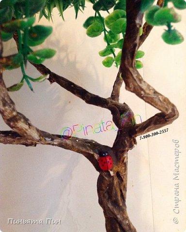 """Топиарий """"Цветочное дерево"""" фото 5"""