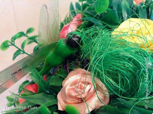 """Топиарий """"Цветочное дерево"""" фото 6"""