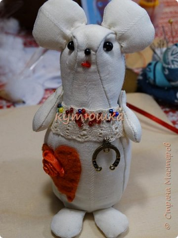щенок и мышка:)) фото 1