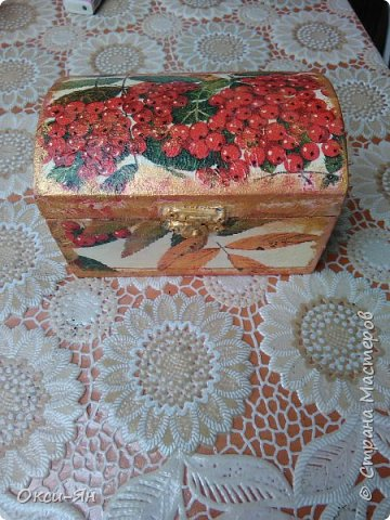 Нашла я на чердаке столетний хлам-коробки и отреставрировала. фото 1