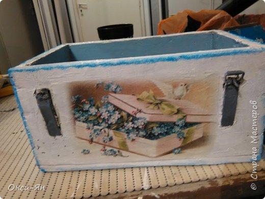 Нашла я на чердаке столетний хлам-коробки и отреставрировала. фото 4
